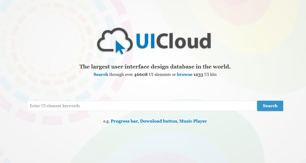 2015-04-23 14-11-10 UICloud   User Interface Design Search Engine, UI, UX, GUI, Inspiration, Resources, Elements, User Expe