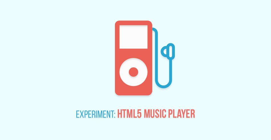 Музыкальный плеер на HTML5