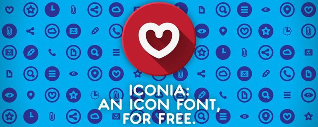 50 лучших шрифтов с иконоками для веб-дизайна