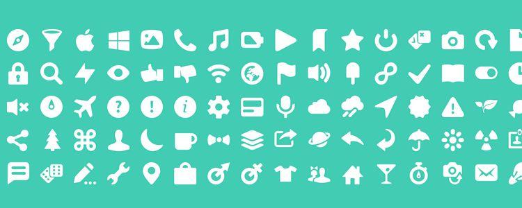 Icony, 100 иконок