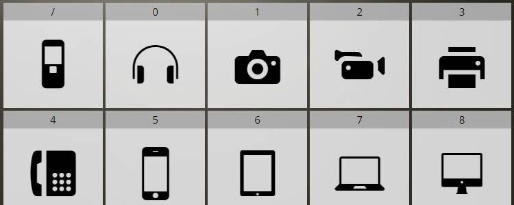 Соса — бесплатный Icon Font