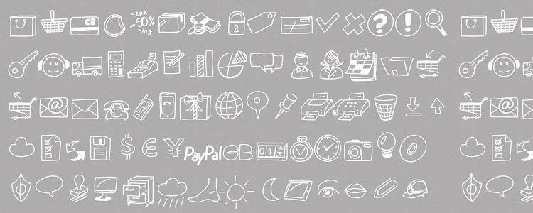 PW Drawn Icon Font