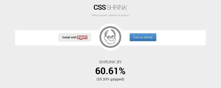 Небольшой инструмент для 'упаковки' CSS файлов