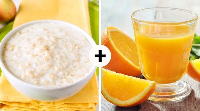 Овсянка иапельсиновый сок— отличные источники фенолов