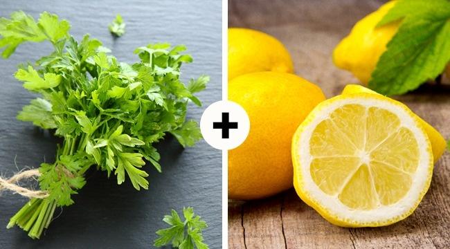 Петрушка замечательно сочетается сцитрусовыми. Железо, содержащееся взелени, помогает витаминуС лучше всасываться вкровь