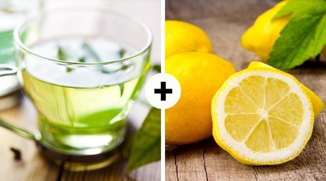 Зеленый чай слимоном замечательно утоляет жажду идает нам энергию