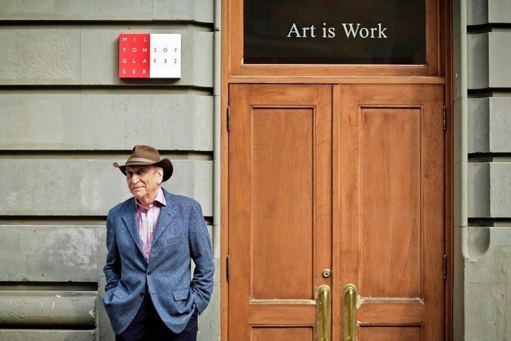 Правила творчества от Милтона Глейзера — знаменитого нью-йоркского дизайнера