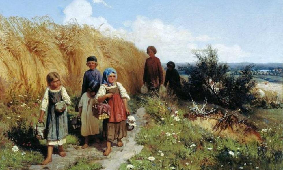 Что умели дети 100 лет назад