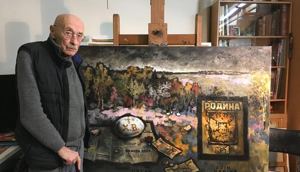 Интервью Оскара Рабина — То, что я говорю, ни в одном художественном журнале не напечатают