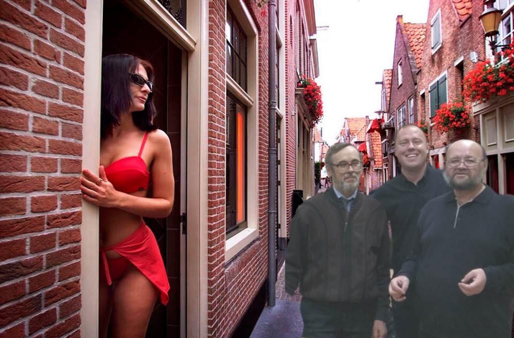 Тру-ля-ля, тру-ля-ля, Можем все за три рубля! Амстердам