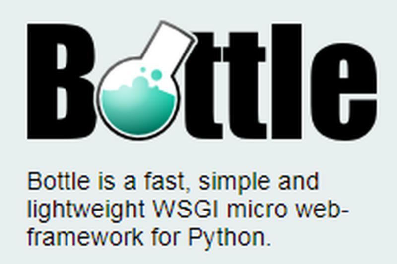 Bottle— быстрый, простой и легкий микро‑фреймворк
