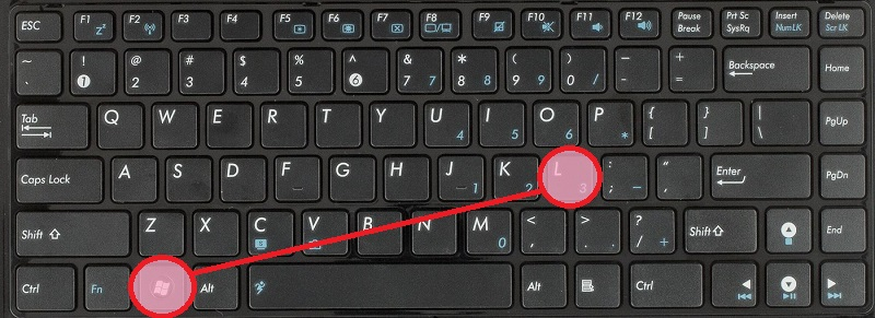 Windows+L - выйти из системы. Полезно для тех, кто часто бегает от своего рабочего места