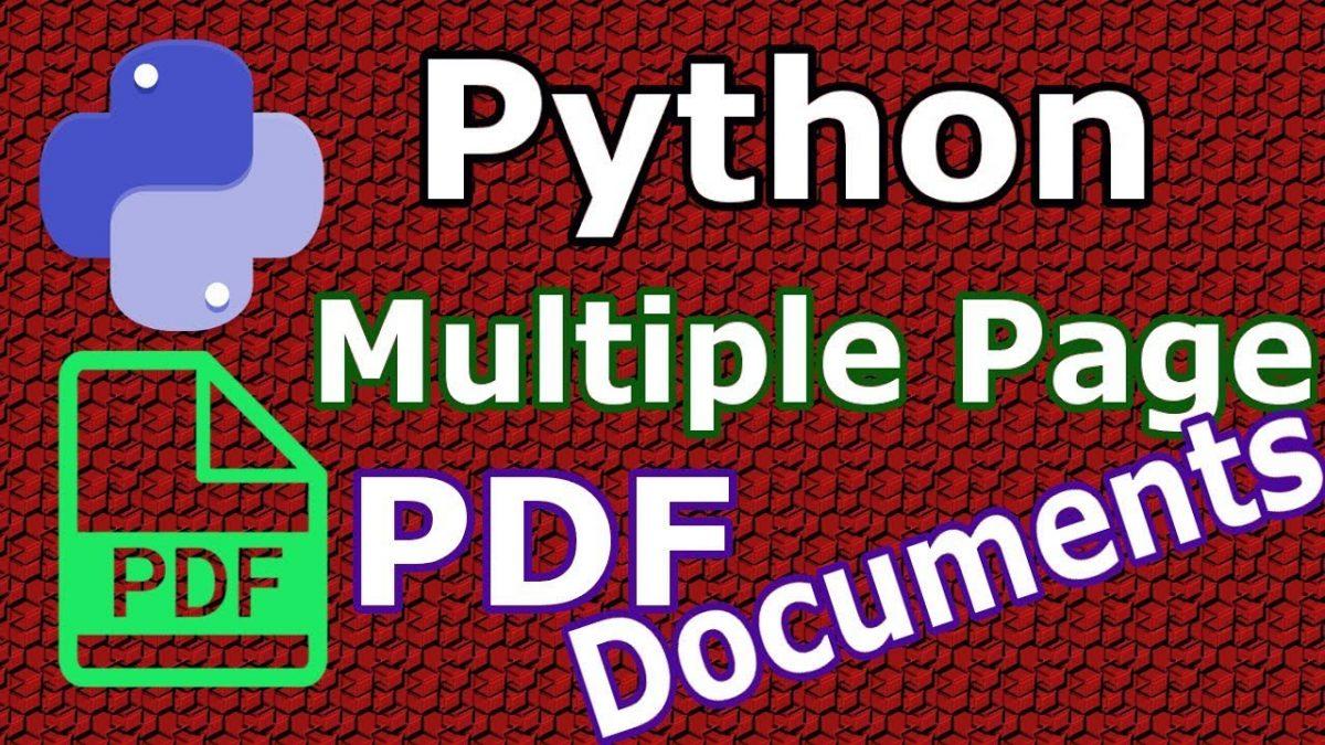 Работа с PDF-файлами в Python (часть I): чтение и разбор