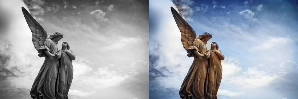 Скульптура ангелов